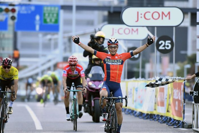 新城幸也選手 ツール・ド・フランスさいたまクリテリウム 日本人初優勝!