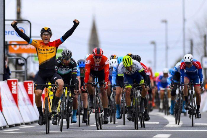 イバン・ガルシア、パリ-ニースの第3ステージでスプリントの強さを披露